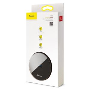 BASEUS USB Type-C hub CAHUB-G01, 1x USB 3.0, 3x USB 2.0, μαύρο | Συνοδευτικά PC | elabstore.gr