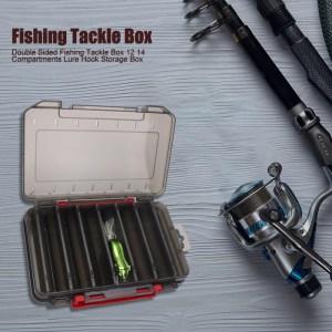 Κασετίνα ψαρέματος δίπλευρη FISH-0004, 14 x 10.5 x 3cm, κίτρινη   Gadgets - Αξεσουάρ   elabstore.gr
