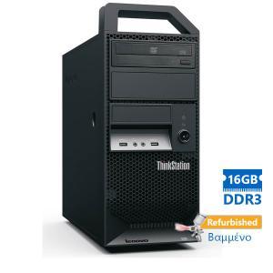 Lenovo E32 Tower Xeon E3-1245V3(4-Cores)/16GB DDR3/500GB/Κάρτα Γραφικών1GB/DVD/7P Grade A+ Workstati   Refurbished   elabstore.gr