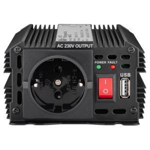 GOOBAY inverter αυτοκινήτου 52767, 12V σε 230V, 300W   Gadgets - Αξεσουάρ   elabstore.gr