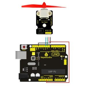 KEYESTUDIO L9110 fan module KS0168   Gadgets - Αξεσουάρ   elabstore.gr