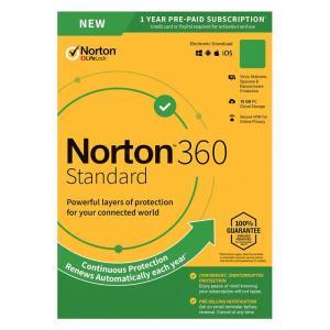 NORTON Antivirus 360 Standard ESD, 1 συσκευή, 10GB cloud, 1 έτος   Software   elabstore.gr