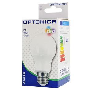 OPTONICA LED Λάμπα A60 1775, 9W, 4500K, E27, 806LM   Φωτισμός   elabstore.gr