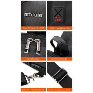 ARCTIC HUNTER τσάντα Crossbody XB00113-BK, αδιάβροχη, μαύρη | Οικιακές & Προσωπικές Συσκευές | elabstore.gr