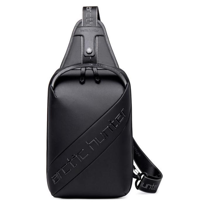 ARCTIC HUNTER τσάντα Crossbody XB00121-BK, αδιάβροχη, μαύρη   Οικιακές & Προσωπικές Συσκευές   elabstore.gr