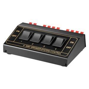GOOBAY switch 4 σετ ηχείων 11934, έως 200W, μαύρο   Εικόνα & Ήχος   elabstore.gr