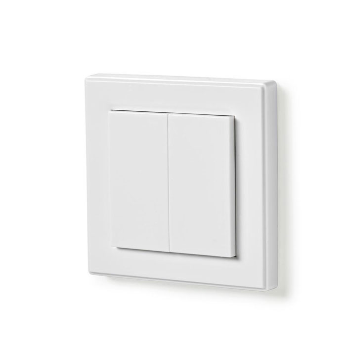 NEDIS RFWS20WT RF Smart Light Switch Double | ΦΩΤΙΣΜΟΣ / ΗΛΕΚΤΡΟΛΟΓΙΚΑ | elabstore.gr