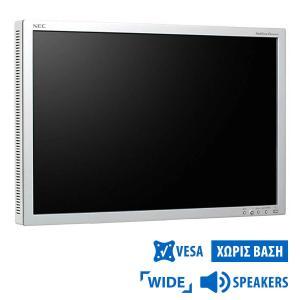 Used Monitor EA241W TFT/NEC/24/1920x1200/Wide/Black/No Stand/w/Speakers/D-SUB & DVI-D & DP & USB HUB   Refurbished   elabstore.gr