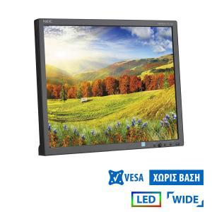 "Used Monitor EA193Mi LED/NEC/19""/1280x1024/Wide/Black/No Stand/VGA & DVI-D   Refurbished   elabstore.gr"