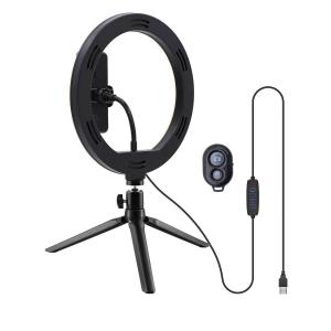 Ring Light LED USB Tripod 25cm with Remote Control Well RING-LIGHT-10-WL | Φωτισμός | elabstore.gr