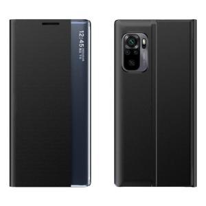 POWERTECH θήκη Sleep MOB-1647 για Xiaomi Redmi Note 10/10S, μαύρη | Αξεσουάρ κινητών | elabstore.gr