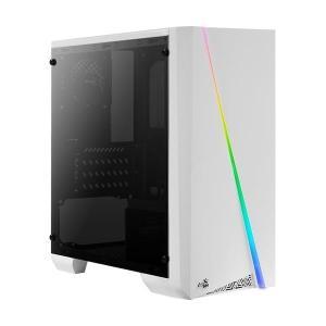 AEROCOOL PC case mini tower CYLON-MINI, 186x381.5x373mm, 1x fan, λευκό | PC & Αναβάθμιση | elabstore.gr