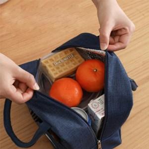 Ισοθερμική τσάντα HUH-0012, 7L, αδιάβροχη, 23x13x21cm, κόκκινη   Οικιακές & Προσωπικές Συσκευές   elabstore.gr