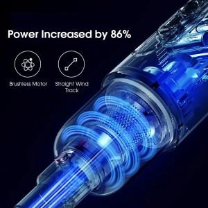 DEERMA φορητή ηλεκτρική σκούπα VC20 Pro, 220W, 0.6L, 84dB, 17kPa, μπλε   Οικιακές & Προσωπικές Συσκευές   elabstore.gr