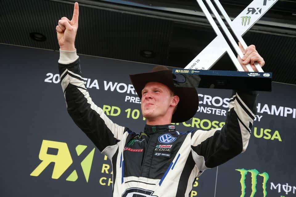 Johan Kristoffersson, la apisonadora del RallyCross