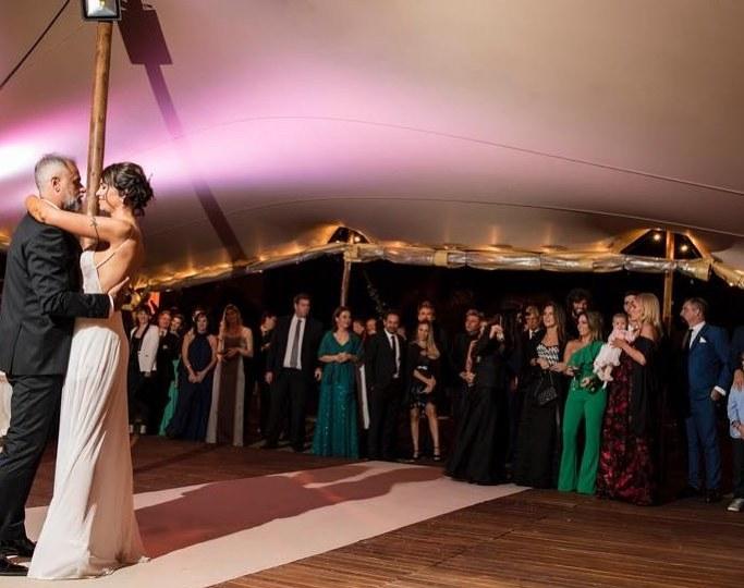 ¿Qué hicieron Romina Pereiro y Jorge Rial en la noche de bodas?