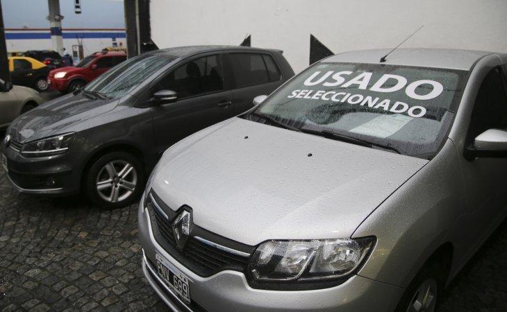 Caída de la venta de autos usados en abril