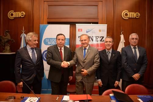 Reunión de CAME con ministro de Túnez