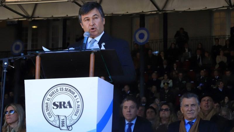 La sociedad rural apoya a Macri