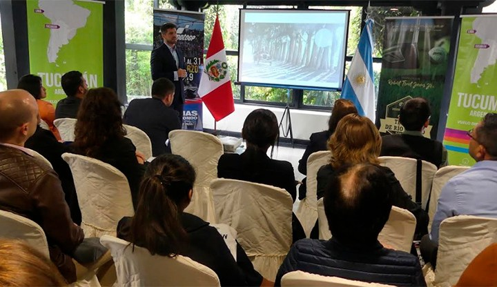 El turismo entre Lima y Tucumán