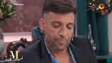Photo of Martín Bossi chateando en el programa de Mirtha