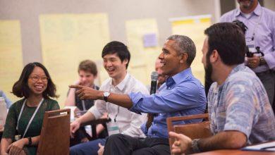 """Photo of Obama expresó que """"las mujeres son mejores gobernantes"""""""