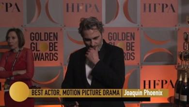 Photo of Joaquín Phoenix se llevó el premio al mejor actor de drama y así lo agradeció