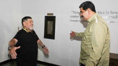 Photo of Maradona visitó a Maduro
