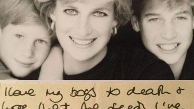 "Photo of ""Amo a mis hijos a muerte…"" Revelan una conmovedora carta de Lady Di"