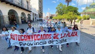 Photo of Salta con paro docente: autoconvocados acampados