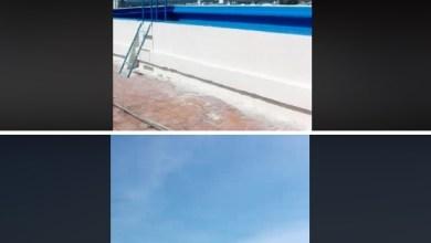 "Photo of Descuido revelador en la terraza del Obispado de Catamarca: ""Mi hermosa pileta"""