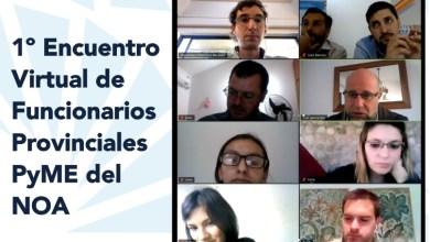 Photo of Tucumán participo del primer encuentro virtual de funcionarios PyME del NOA