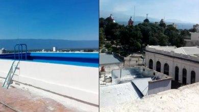Photo of ¿Cuánto cuesta mantener la pileta en la terraza del Obispado de Catamarca?