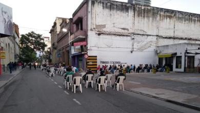 Photo of La Policía organiza la circulación de peatones y taxis en el centro