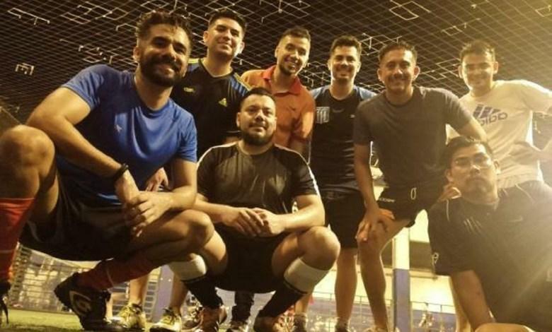 Equipo de fútbol LGBTI.