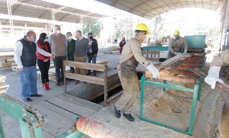 Industria maderera en Graneros.