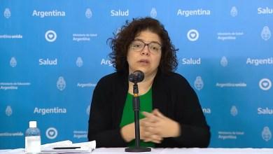 Photo of El Ministerio de Salud presentó el parte diario sobre el coronavirus