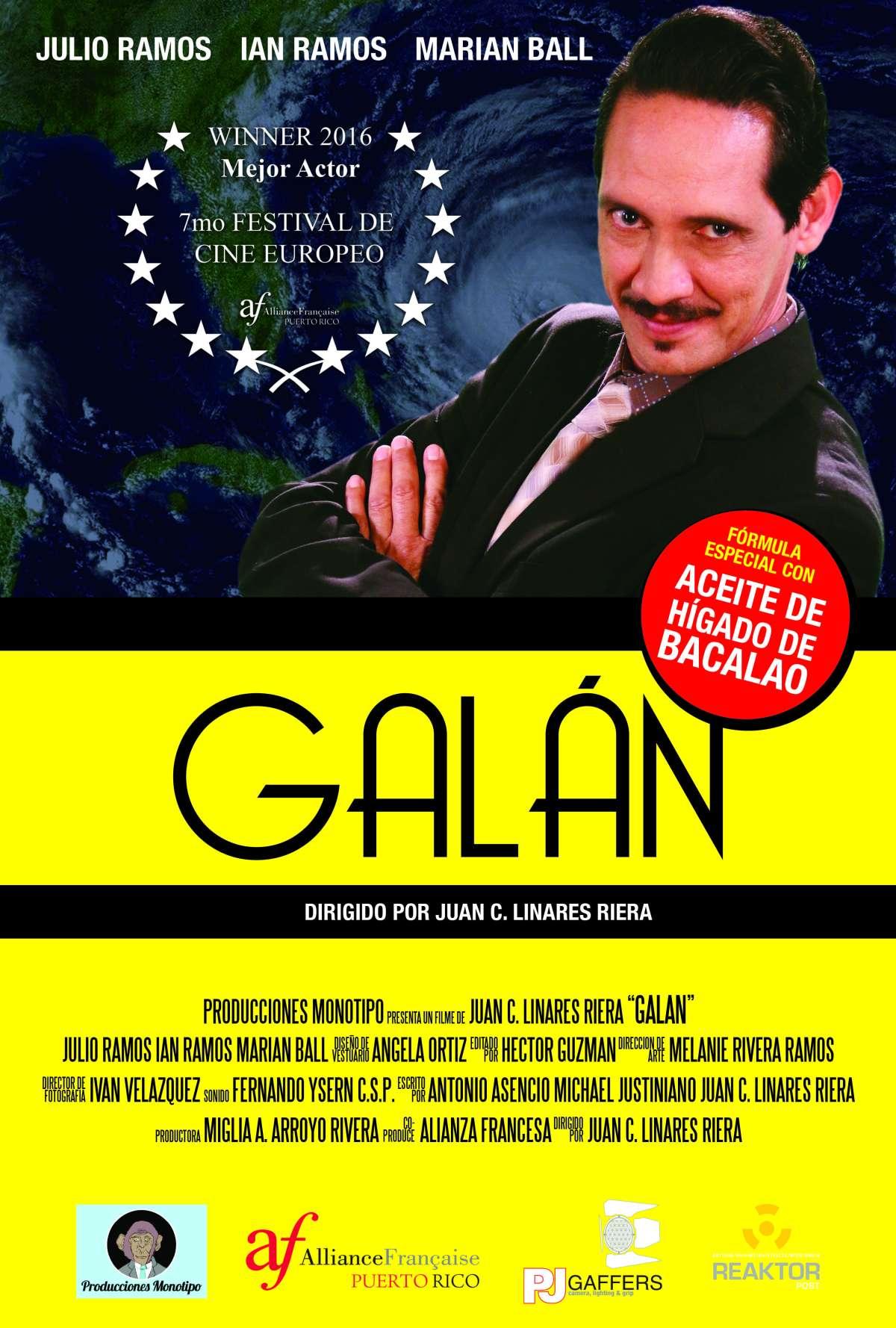 Poster Galan Oficial