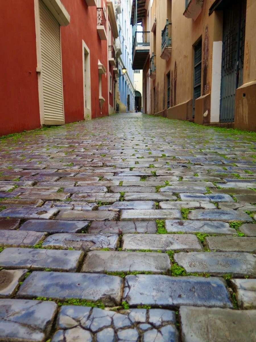 Los Adoquines de Escoria del Viejo San Juan