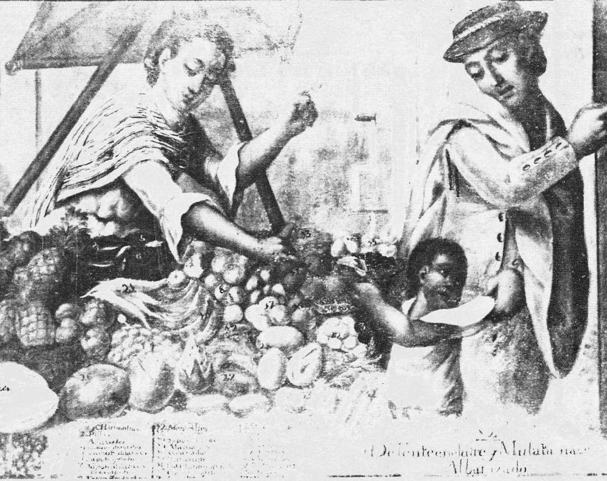 El origen del mestizaje racial en nuestra tierra
