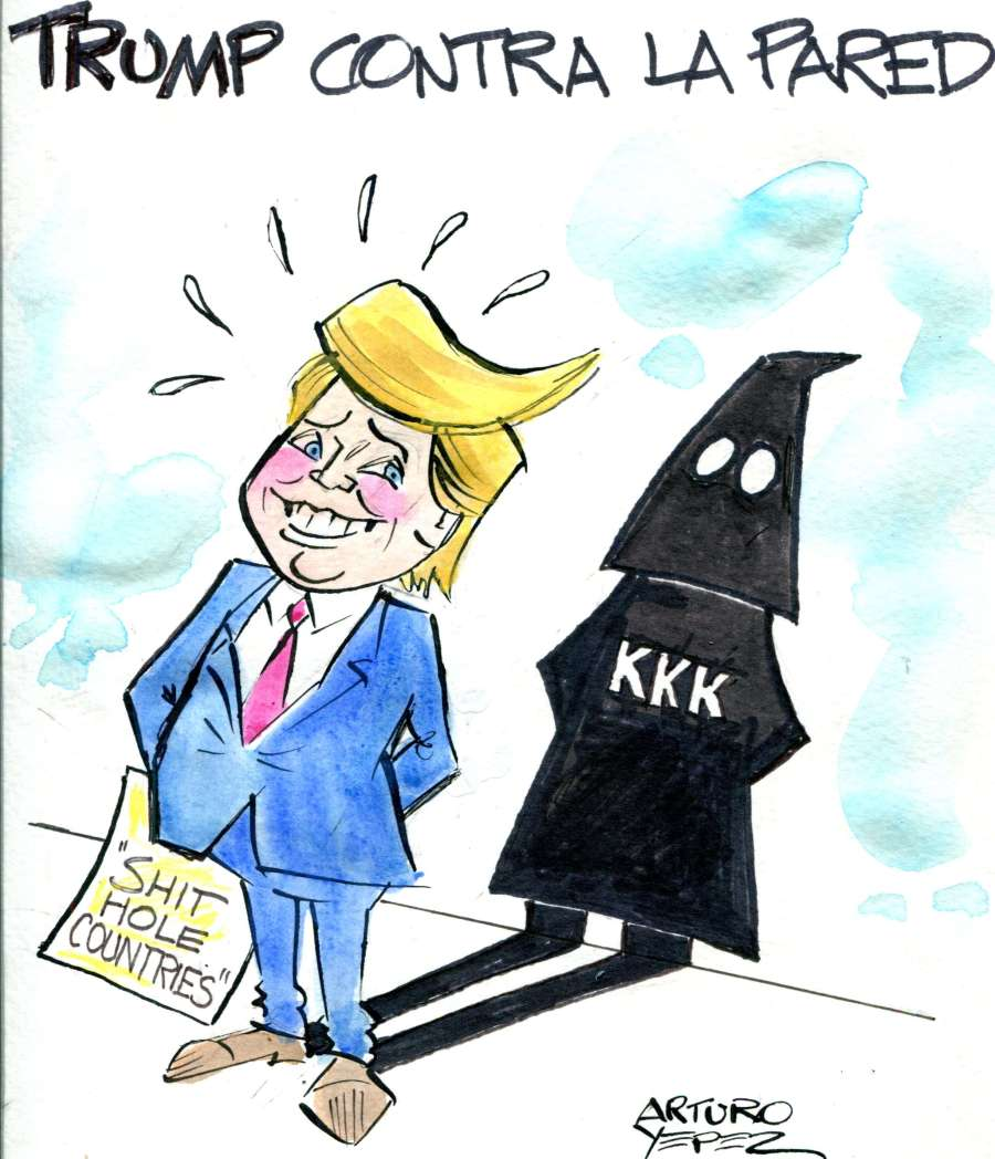 Caricatura Trump
