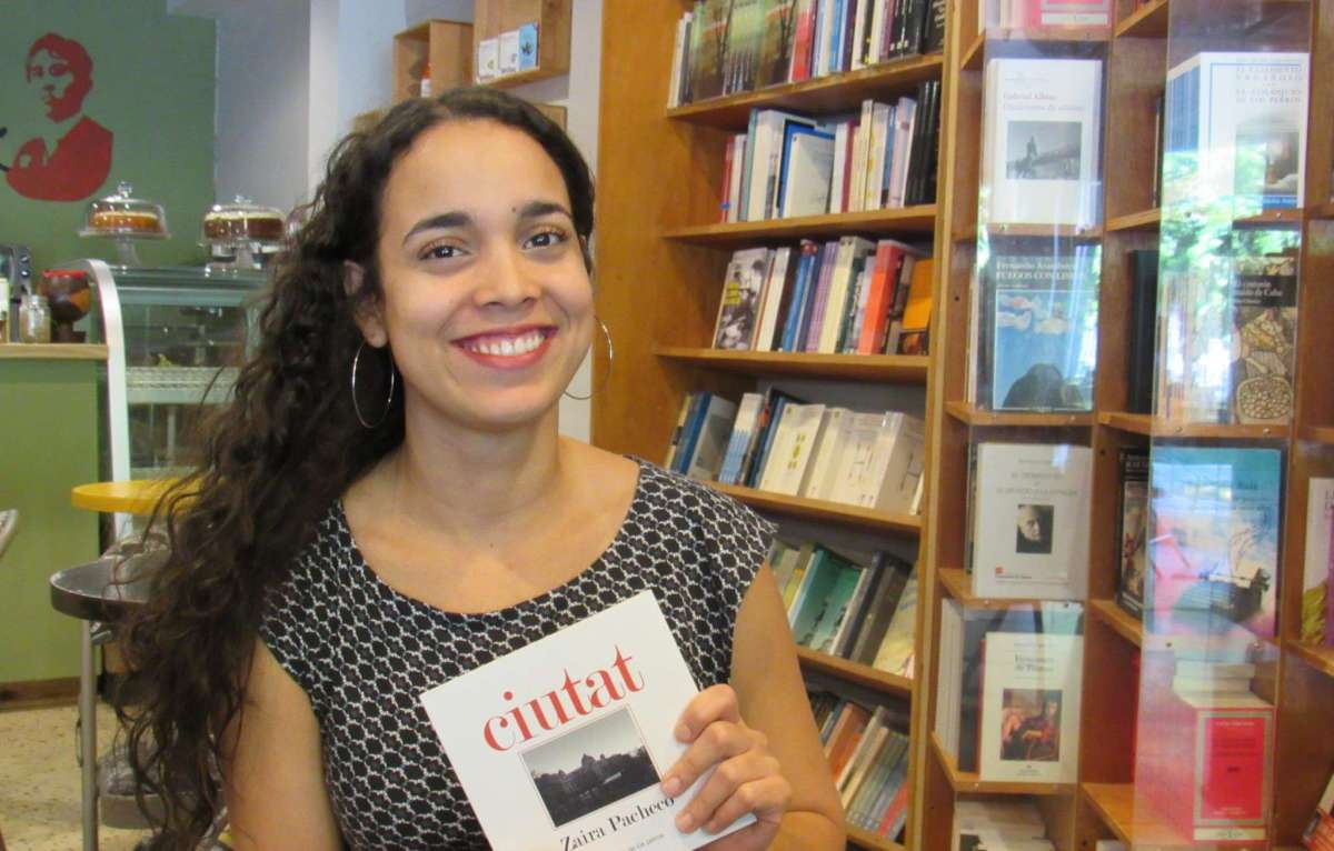 Para saborear la literatura emergente: Zaira Pacheco