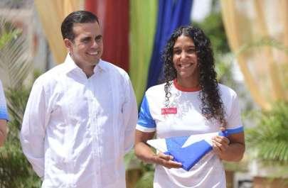 Ricardo Rosello en Abanderamiento de Delegacion de Atletas de Barranquilla 2018 1