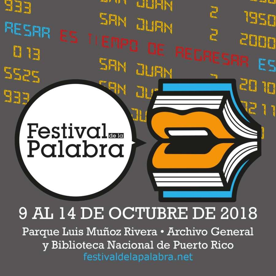 Festival de la Palabra Septiembre 2018