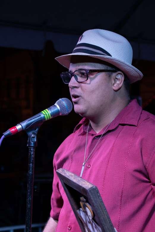 Campeón Trovador Nacional de PR 2018, Humberto Martínez,