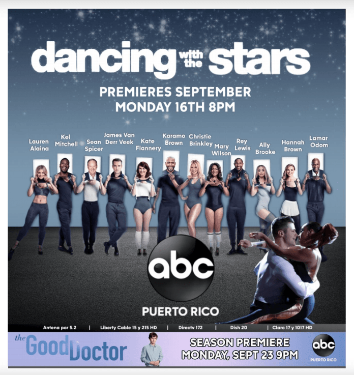 Anuncio ABC Dancing with the Stars