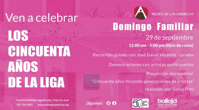 Anuncio Museo de las Americas Septiembre 2019 La LIga