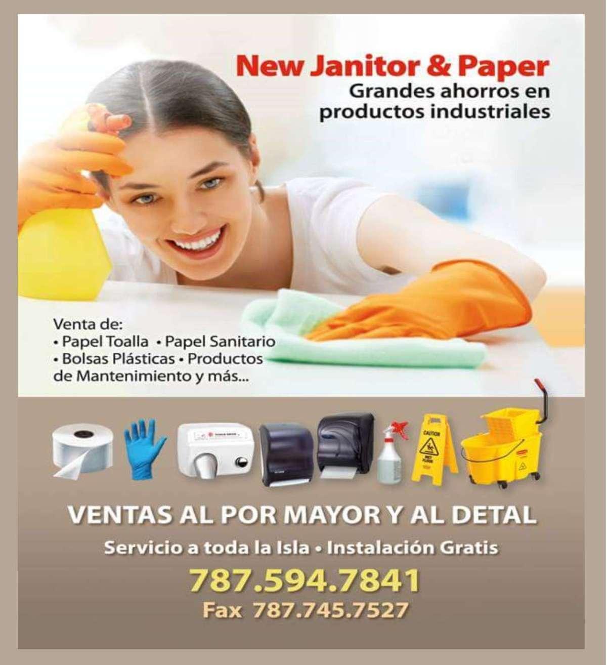 Pauta New Janitor Revisada a cuarto de pagina