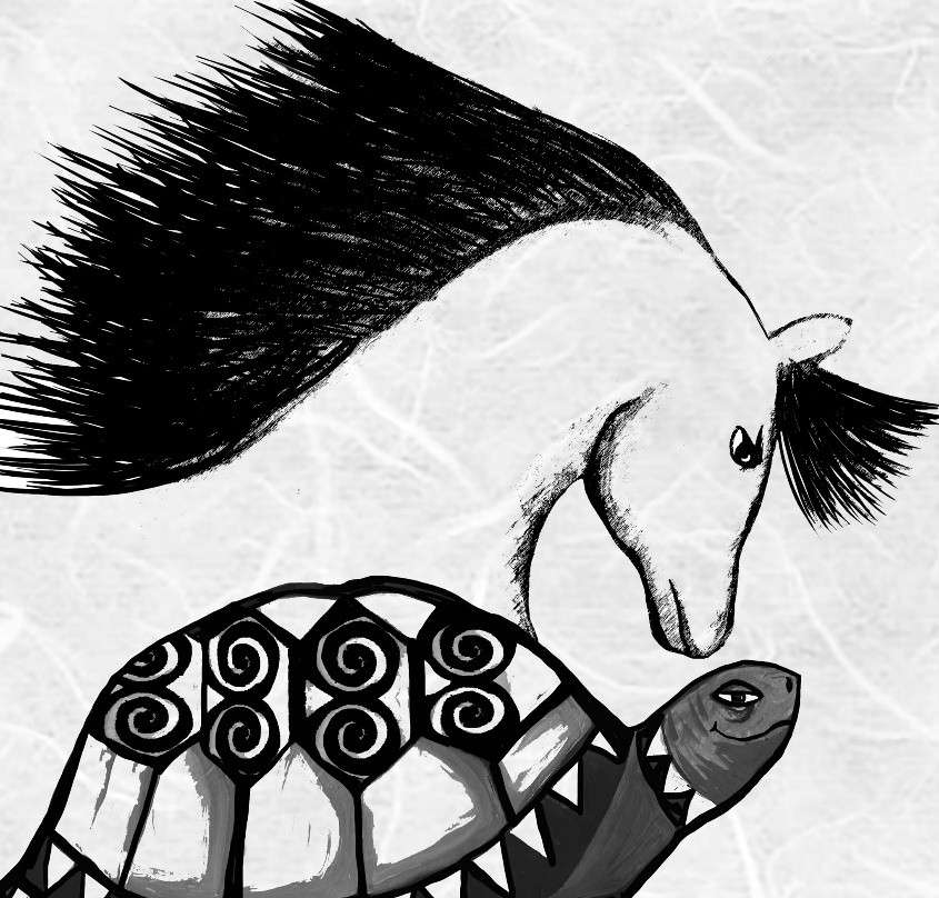 La Jicotea y el caballo