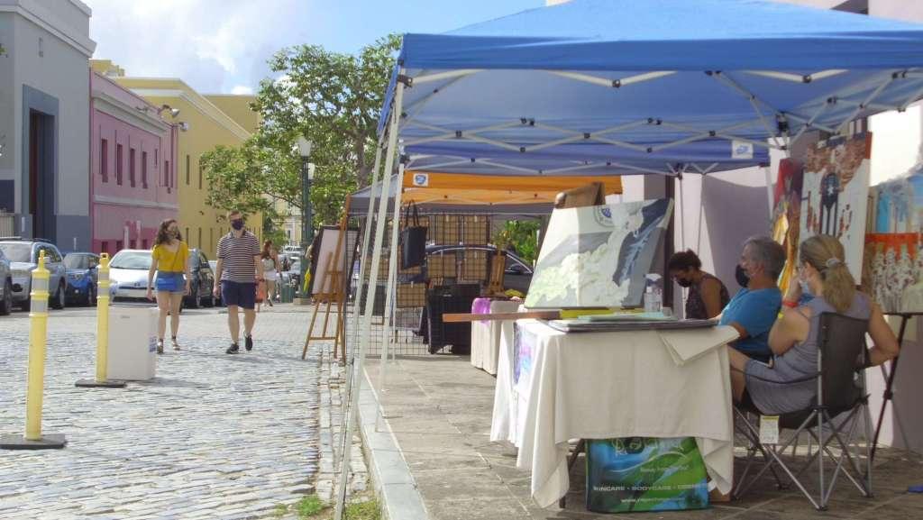 Mercado Ballajá de este mes